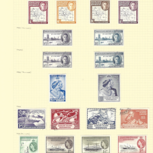 Falkland Islands Dependencies 1946-54 including Silver Wedding and UPU Issues.