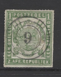 SG Transvaal 32, South Africa stamp