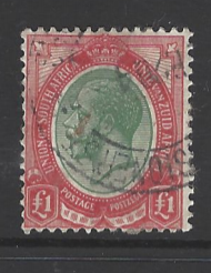 SG 17, South Africa stamp