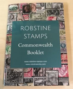 Robstine Stamps Commonwealth Booklet