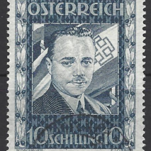 Austria SG 793. 1936 the Assassination of Dollfuss stamp, fine used
