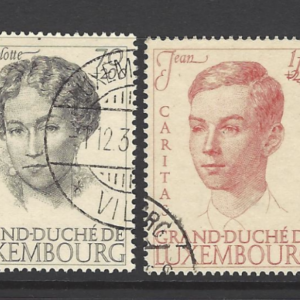 SG 390-395, set of 6, Luxembourg