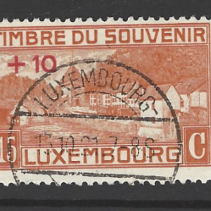SG 209-211, set of 3, Luxembourg