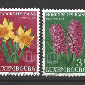 SG 586-9, Luxembourg