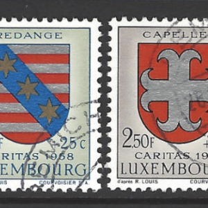 SG 645-50, Luxembourg