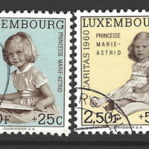 SG 685-690, Luxembourg