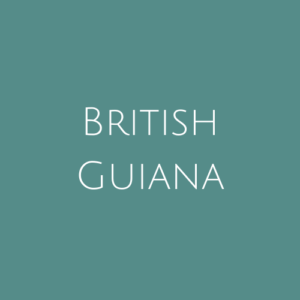 British Guiana fine Used Stamps