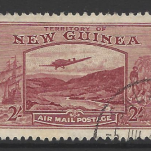 NEW GUINEA 1939 2/- Airmail, Fine Used SG 222