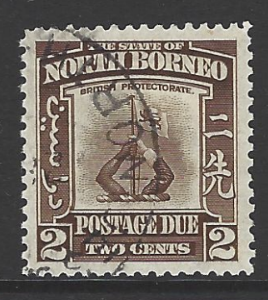 North Borneo SG D 85 Fine Used