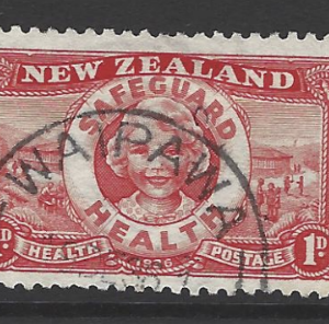 New Zealand SG 598, 1936 Health, Fine Used