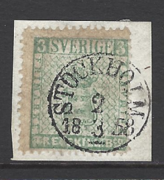 Sweden, SG 1a, Fine Used