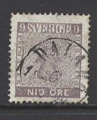 Sweden SG 7a, Fine Used