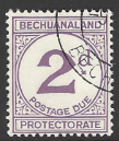 Bechuanaland, SG D6 Fine Used