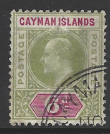 Cayman Islands, SG 14 Fine Used