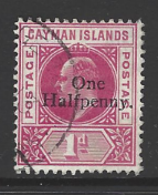 Cayman Islands, SG 17 Fine Used