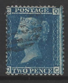 Great Britain, SG 45, Plate 12 Fine Used