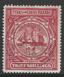 Turks and Caicos Islands, SG 109 Fine Used