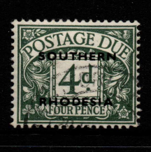 Southern Rhodesia, SG D6, Fine Used,