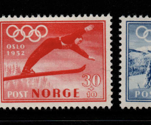 Norway, SG 436-436, Mounted,