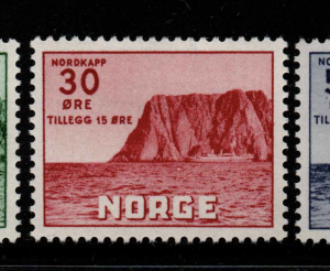 Norway, SG 442-444, Mounted,