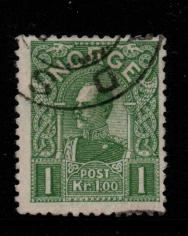 Norway, SG 130, Fine Used,