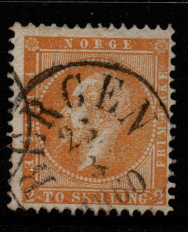 Norway, SG 4, Fine Used,