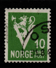 Norway, SG 321, Fine Used,