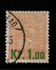 Norway, SG 122, Fine Used,