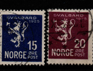 Norway, SG 183-6, Fine Used,