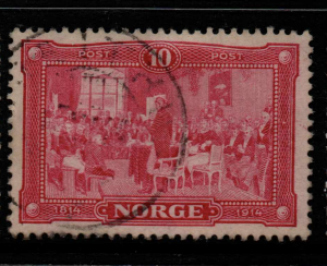 Norway, SG 159-161, Fine Used,