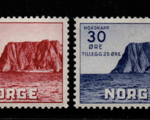 Norway, SG 265-266, Mounted,