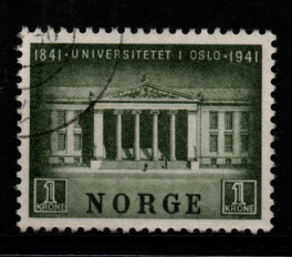 Norway, SG 322, Fine Used,