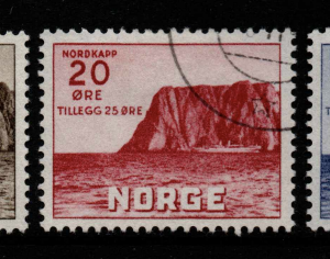 Norway, SG 349-351, Fine Used,