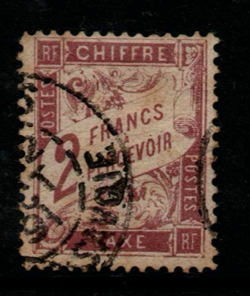 France, SG D294, Fine Used,