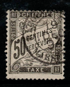 France, SG D289, Fine Used,