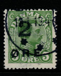 Faroes, Listed as SG 207 of Denmark, Fine Used,