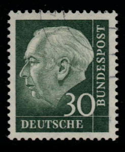 West Germany, SG 1122b, Fine Used,