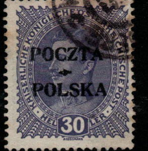 Poland, SG 38, Fine Used, Expertised,
