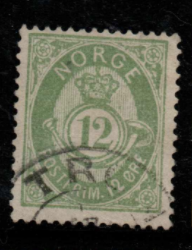 Norway, SG 74, Fine Used,