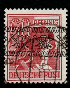 Germany- British and American Zones, SG A50, Fine Used, Expertised