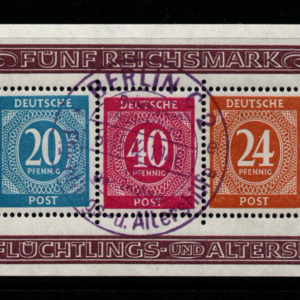 Germany-American+British+Soviet Zones, SG MS925a, Fine Used,