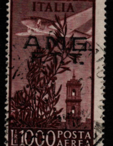 Italy, Trieste A, SG 27, Fine Used,