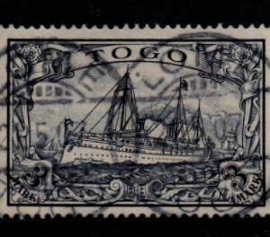 German Colony, Togo, SG G18, Fine Used,