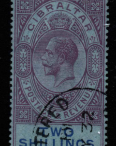 Gibraltar Stamps, SG 99a, Fine Used stamps,