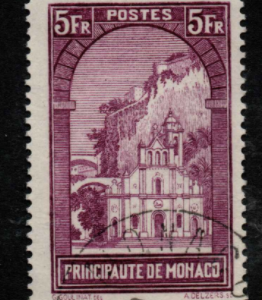 Monaco Stamps, SG 140, fine used stamps,