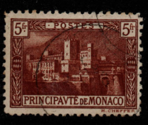 Monaco Stamps, SG 62, Fine Used Stamps
