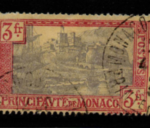 Monaco Stamps, SG 103, Fine Used Stamps,