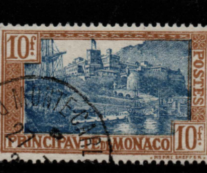 Monaco Stamps, SG 105, Fine Used Stamps,