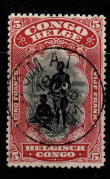 Belgian Congo SG 67 Fine Used Stamps, Belgian Congo Fine Used Stamps,