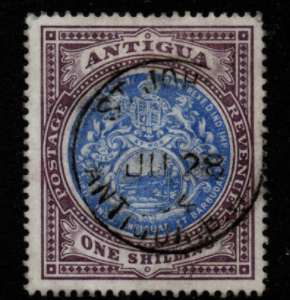 Antigua SG 37 Fine Used Stamps, Antigua Fine Used Stamps,